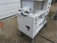 Working Ergo-Express Motorized Platform Cart