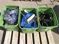 3pc Green Tubs- Electrical,Painting,Pipes