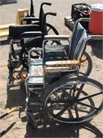 2pc Wheel Chairs