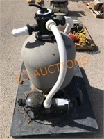 Pool Filter / Pump Assembly