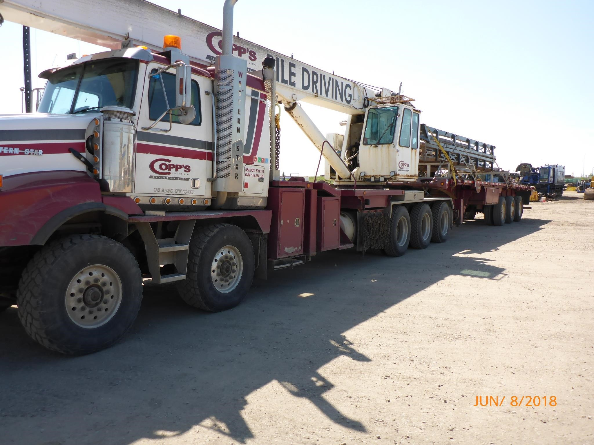 Western Star 4900 >> 2006 Qmc 8470s Mounted On 2006 Western Star 4900 For Sale In Cold Lake Alberta