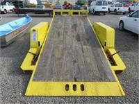 2013 Marksman 2 Axle Tilt Deck Trailer