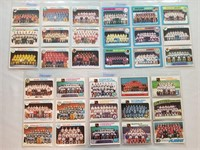 Nhl Hockey 33 Team Cards 1970's Some Checklists