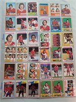Nhl  Hockey Cards. Collection Of 36 Vintage