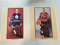 "5 Vintage Hockey Photos- ""original 6 Era"" Nhl"