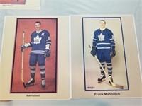6 Vintage Hockey Photos- Maple Leafs.
