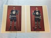 Vintage Nhl Hockey Photos- Toronto Maple Leafs.