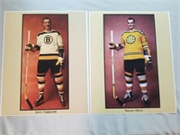 Vintage Nhl Photos. Boston Bruins Remastered