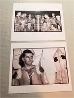 5 Vintage Nhl Photos- Toronto &