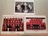3 Montreal Canadiens Vintage Team Photos. Nhl