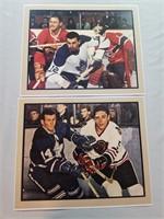 6 Vintage Hockey Photos. Toronto Maple Leafs In