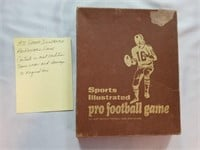 1971 Sports Illustrated Pro Football Game.