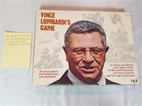 Very, Very Rare Vince Lombardi's Game: Pro