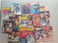 16 Vintage Magazines From 1970's. Nhl Hockey.