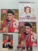 Nice Collection Of Assorted Eric Lindros. Nhl