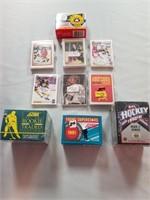 Nhl Hockey. 9 Sets- Some Sealed.