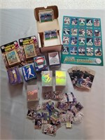 Assorted Baseball Collectables.