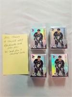Nhl 4 Complete Sets Of Mcdonalds Cards.