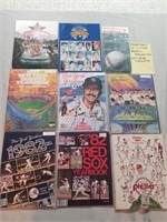 Assortment Of Vintage Baseball Publications. Most