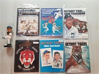 Detroit Tigers Yearbooks And Score Books