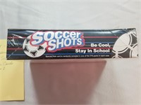 SOCCER- 1991. One unopened wax box of Soccer