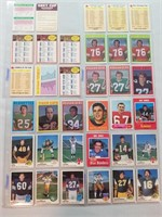 FOOTBALL. CFL. Vintage assortment from 1960's and