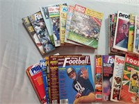 30 Vintage Football Magazines and publications.