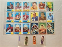 NFL Football cards. Nice collection of Vintage
