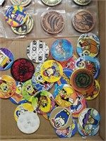 Assortment of Pogs and Slammers.