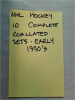 NHL Hockey. 10 Complete Collated Sets-Early