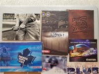 (See final photo) Various sports calendars,