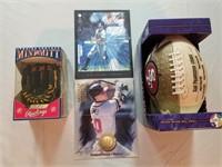 Football & Baseball Collectibles. *see final