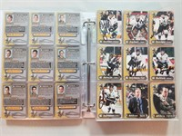 Full Binder of Hockey Cards. *See final photo for