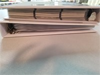 Baseball & Golf. Two Binder lot. *See second