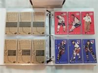 2 Sets of Parkie Reprints. 1 set 64-65 Parkhurst.