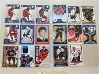 17 Alexander Ovechkin Hockey Cards. Including 8