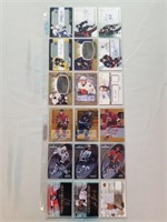 44 Autographed Hockey and Baseball Cards.