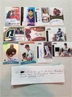 Collection of 11 Hockey and Baseball RCs. All