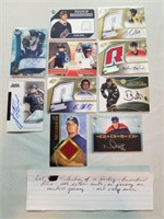 Collection of 10 Hockey and Baseball RC's. All