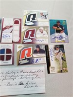 Lot of 10 Hockey and Baseball RC's. All either