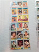 Lot Of 50 Pre- 1980 Baseball And Hockey Cards.