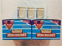 Collection Of 2 Riddell Mini Helmets, 3 Nyy