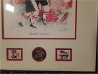 Henderson Goal Canada Picture By S. Houston 16x21