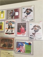 Lot To Included Hockey Cards, Autographed, And
