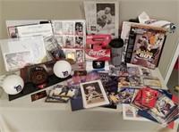 Large Lot Of Sports Memorabilia Everything!