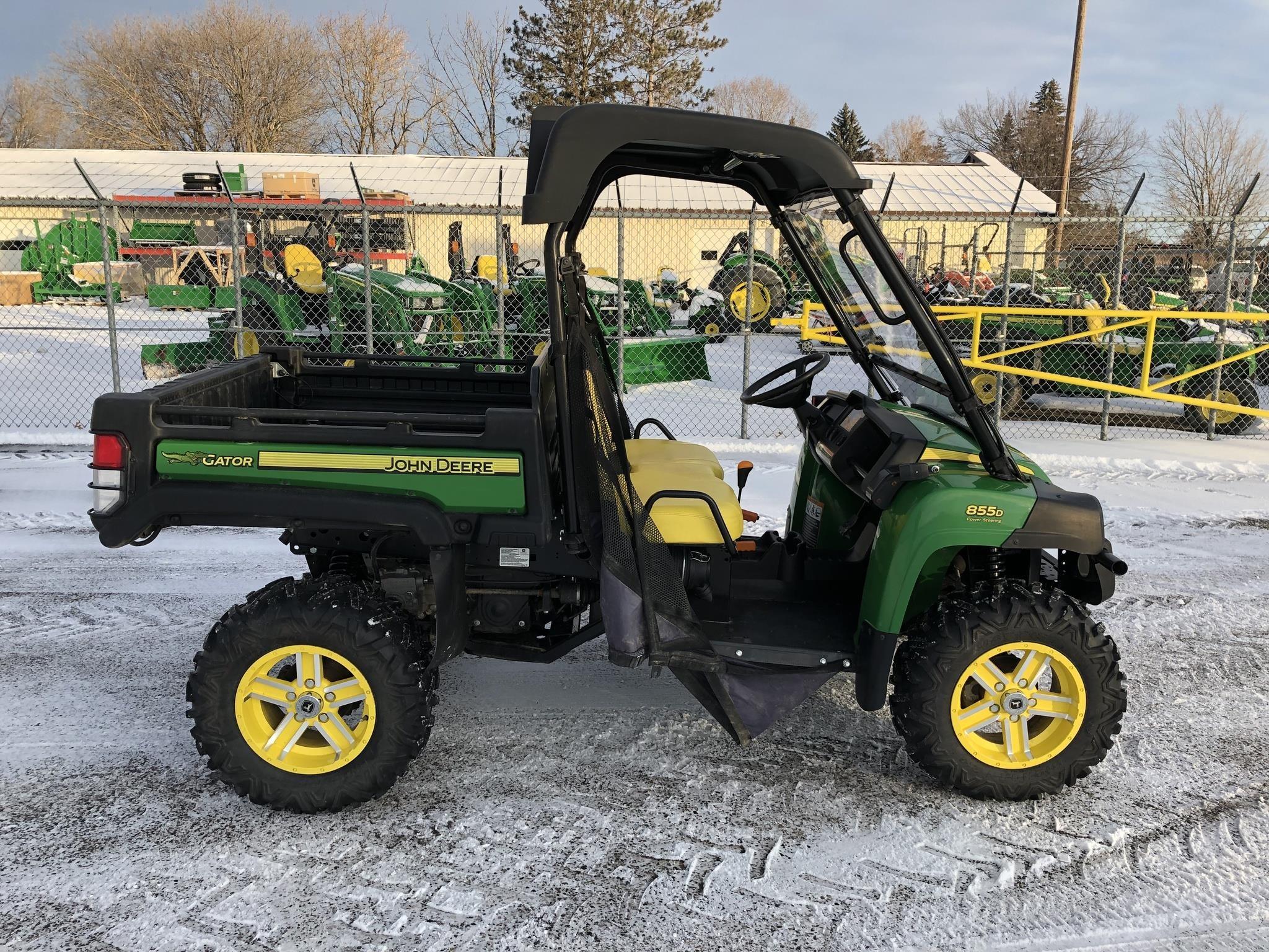 John Deere Gator >> 2017 John Deere Gator Xuv 855d For Sale In Columbus Minnesota