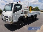 2012 Fuso Canter FG 4x4 Table / Tray Top Drop Sides