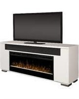"""As Is"" Barnett Soundbar TV Stand for TVs up to 75"