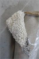 Duhon Ivory/Gray Shag Area Rug 9x12