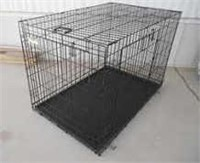 """""""Used"""" Top Paw Two Door X-Large Metal Dog Crate"""